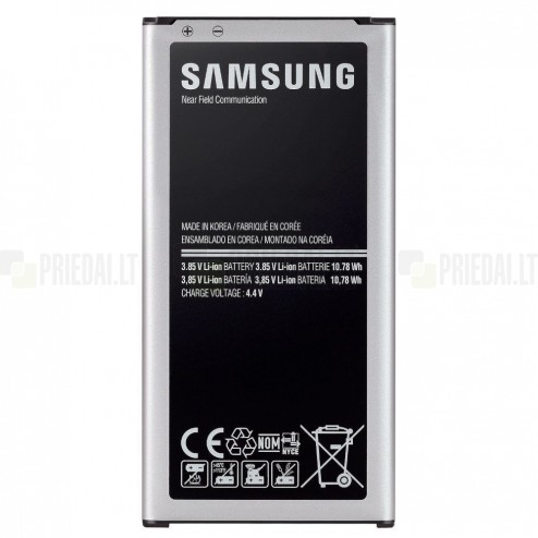 Samsung Galaxy S5 G900 akumulators (EB-B900BE, 2800 mAh, vidējais, originals)