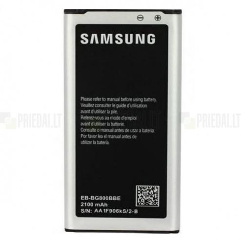 Samsung Galaxy S5 mini G800 akumulators (EB-B800BE, 2100 mAh, vidējais, originals)