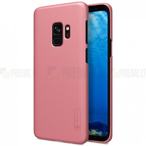 Samsung Galaxy S9 (G960) Nillkin Frosted Shield rozs plastmasas apvalks + ekrāna aizsargplēve