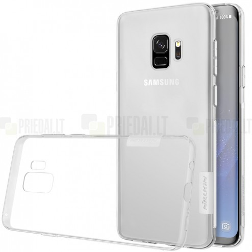 Samsung Galaxy S9 (G960) Nillkin Nature dzidrs (caurspīdīgs) silikona planākais apvalks