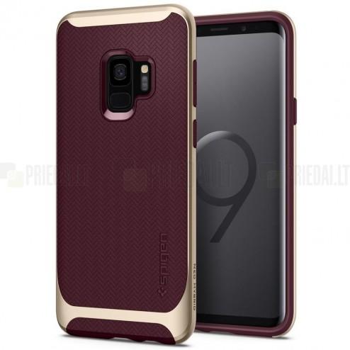 """""""Spigen"""" Neo Hybrid pastiprinātas aizsardzības bordo Samsung Galaxy S9 (G960) apvalks"""