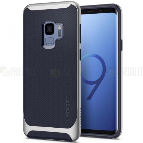 """""""Spigen"""" Neo Hybrid pastiprinātas aizsardzības zils Samsung Galaxy S9 (G960) apvalks"""