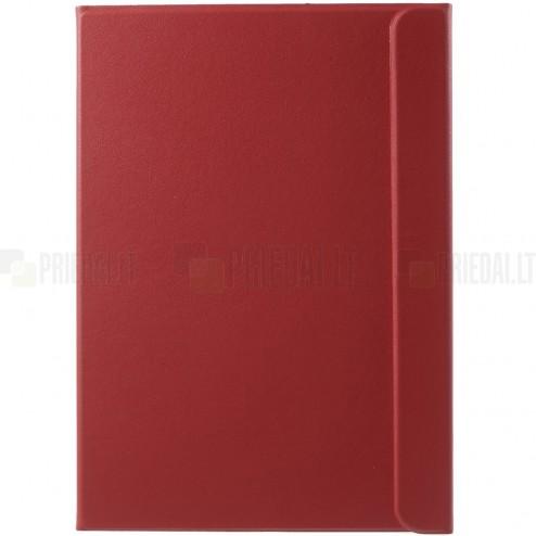 Samsung Galaxy Tab S2 9.7 (T815, T810) Smart Case ādas atvēramais sarkans maciņš