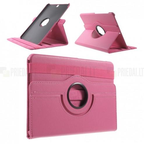 Samsung Galaxy Tab S2 9.7 (T815, T810) 4G LTE atvēramais rozs ādas maciņš, grozās 360° grādu apjomā
