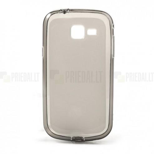 Samsung Galaxy Trend II S7570 pelēks cieta silikona futrālis