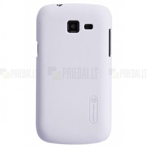 Samsung Galaxy Trend Lite S7390 (S7392) Nillkin Frosted Shield balts plastmasas apvalks + ekrāna aizsargplēve
