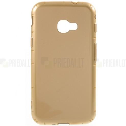 Samsung Galaxy Xcover 4 / 4S (G390, G398) cieta silikona (TPU) zelta apvalks