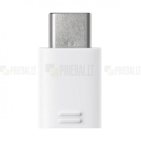 "Origināls ""Samsung"" Type-C micro USB Connector balts adapteris (EE-GN930)"