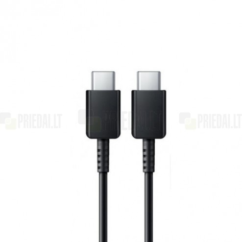 Oficiāls Samsung Type-C Type-C melns vads 1,2 m. (EP-DG977, origināls)