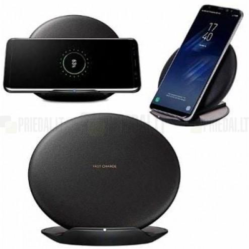 """Origināls """"Samsung"""" Fast Charge melns bezvadu lādētājs (EP-N5100), Qi standarts)"""