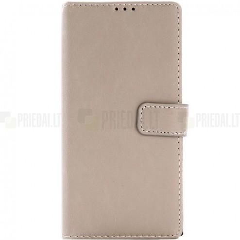 Sony Xperia XA1 atvēramais ādas smilšu retro maciņš (maks)