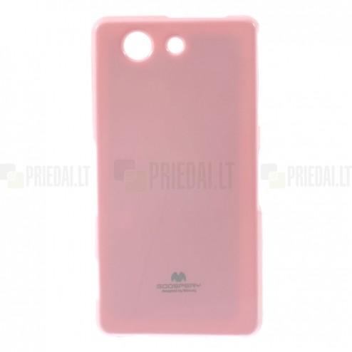Sony Xperia Z3 Compact Mercury rozs cieta silikona (TPU) futrālis