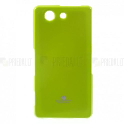 Sony Xperia Z3 Compact Mercury zaļš cieta silikona (TPU) futrālis