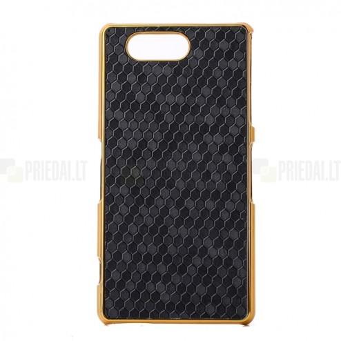 Sony Xperia Z3 Compact (D5803, M55w) melns elegants porains futrālis