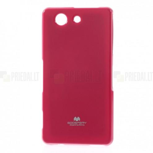 Sony Xperia Z3 Compact Mercury tumši rozs cieta silikona (TPU) apvalks