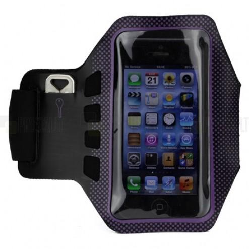 """""""Bubble"""" apvalks sportam (rokas saite) - violeta, universāls (S izmērs)"""