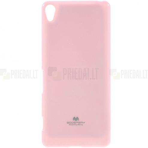 Sony Xperia XA Mercury gaiši rozs cieta silikona (TPU) apvalks