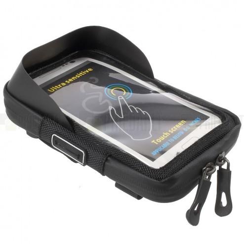 """""""Roswheel"""" melns universāls velosipēdam telefona futrālis  (XL)"""