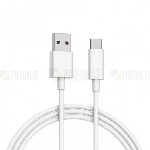 Xiaomi USB Typec-C balts vads 1 m. (MDY-08-EO, origināls)