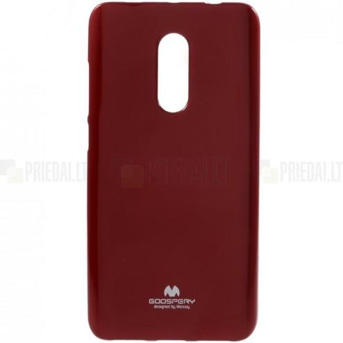 Xiaomi Redmi Note 4X Mercury sarkans cieta silikona (TPU) apvalks