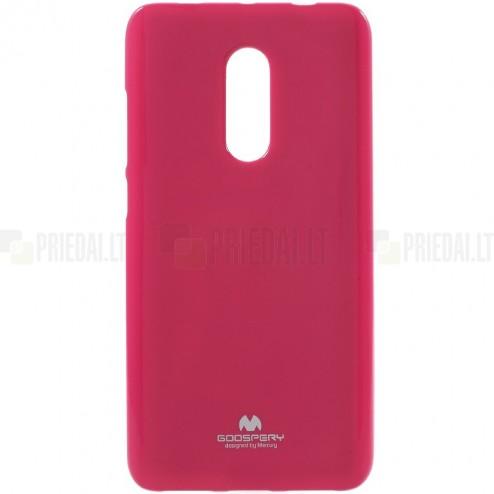 Xiaomi Redmi Note 4X Mercury tumši rozs cieta silikona (TPU) apvalks