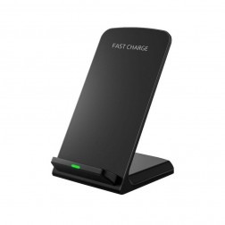 """Quick Charge"" Wireless bezvadu lādētājs (10W) - melns"
