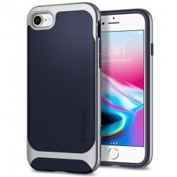 """Spigen"" Neo Hybrid Herringbone apvalks - zils (iPhone 7 / 8 / SE 2020)"