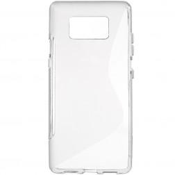 Cieta silikona (TPU) apvalks - pelēks (Galaxy S8+)