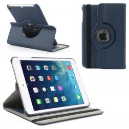Atvēramais futrālis 360° - tumši zils (iPad Mini 1 / 2 / 3)