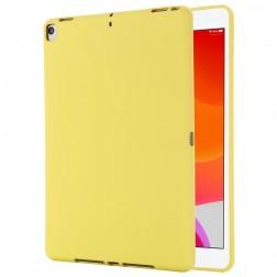 """Shell"" cieta silikona (TPU) apvalks - dzeltens (iPad 10.2 2019 / 2020 / 2021)"