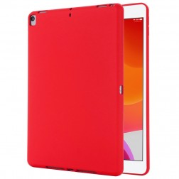 """Shell"" cieta silikona (TPU) apvalks - sarkans (iPad 10.2 2019 / 2020 / 2021)"