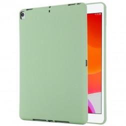 """""""Shell"""" cieta silikona (TPU) apvalks - zaļš (iPad 10.2 2019 / 2020 / 2021)"""
