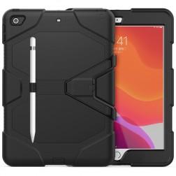 Pastiprinātas aizsardzības vāciņš - melns (iPad 10.2)