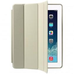 Klasisks atvēramais futrālis - smilšains (iPad 2 / 3 / 4)