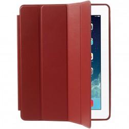 Klasisks atvēramais futrālis - sarkans (iPad 2 / 3 / 4)