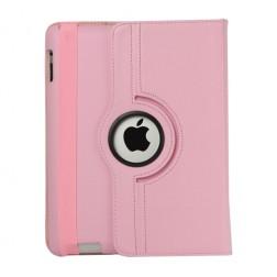 Atvēramais futrālis 360° - rozs (iPad 2 / 3 / 4)