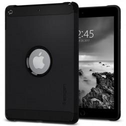 """""""Spigen"""" Tough Armor pastiprinātas aizsardzības apvalks - melns (iPad 9.7"""" 2017 / iPad 9.7"""" 2018)"""