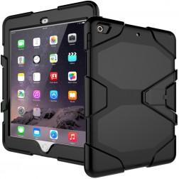 """Pastiprinātas aizsardzības apvalks - melns (iPad 9.7"""" 2017 / iPad 9.7"""" 2018)"""