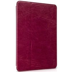"""""""HOCO"""" Retro atvēramais futrālis - sarkans (iPad Air 2)"""