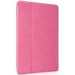 """""""HOCO"""" Retro atvēramais futrālis - rozs (iPad Air 2)"""
