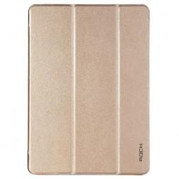"""Rock"" Uni atvēramais maciņš - zelta (iPad Air 2)"