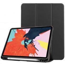"""""""Stylus"""" atvēramais maciņš - melns (iPad Air 4 2020)"""