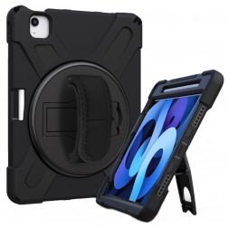 """Pastiprinātas aizsardzības (360°) apvalks - melns (iPad Pro 11"""" 2021 / 2020 / 2018 / Air 4 2020)"""
