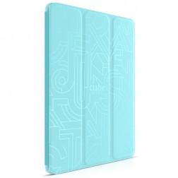 """HOCO"" Crystal Cube atvēramais futrālis - zils (iPad Air 2)"