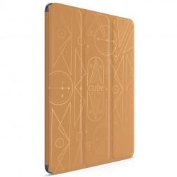 """HOCO"" Crystal Cube atvēramais futrālis - brūns (iPad Air 2)"