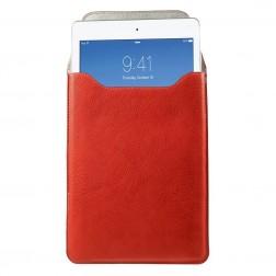 Ādas ieliktņa planšetdatoram - sarkana (iPad Air / iPad Air 2 / iPad Pro 9.7 / iPad 9.7 2017)