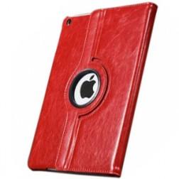 Solīds atvēramais 360° maciņš - sarkans (iPad Air)