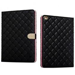"""""""Glam"""" atvēramais futrālis - melns (iPad Mini 1 / 2 / 3)"""