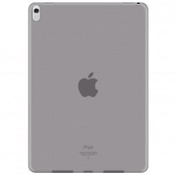 Cieta silikona (TPU) apvalks - dzidrs, pelēks (iPad Pro 10.5 / iPad Air 2019)