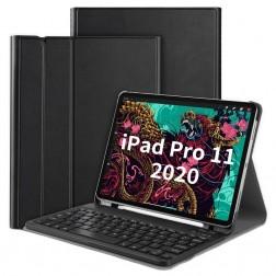 """Atvēramais futrālis ar tastatūra - melns (iPad Pro 11"""" 2020 / 2018)"""